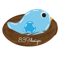 839design bird in nest logo